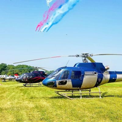 Baptême d'hélicoptère au Meeting de Cerny à la Ferté Alais