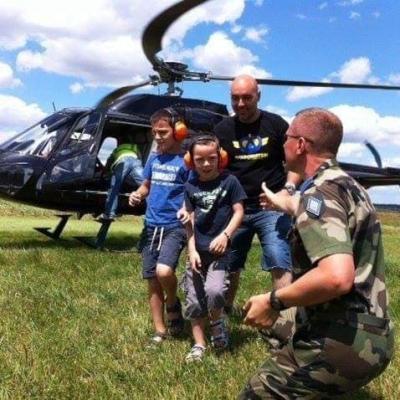 Baptêmes d'hélicoptère à Montbel