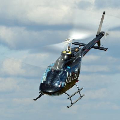Vol découverte en hélicoptère du plateau Ardéchois